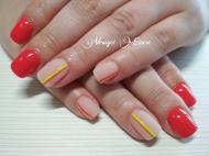 Best Nails - Neon piros