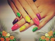 Neon színek