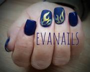Best Nails - kék