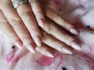 Best Nails - Csillámos nude