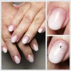 Best Nails - egyszerű babyboomer
