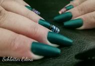 zöld matt oval