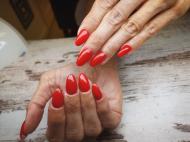 Best Nails - Ferrari piros