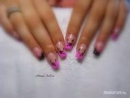 rózsaszín fekete kombi