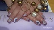 Best Nails - Lila  és fehér