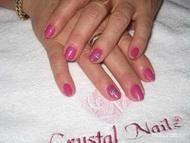 Best Nails - Gel lac húzott mintával