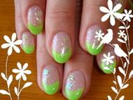 Best Nails - zöld...de nem zöldség :-)