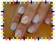 Best Nails - tavaszi virágok