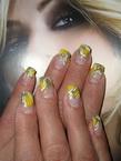 Best Nails - Sárga-ezüst