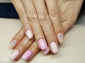 Rózsaszín csillámos
