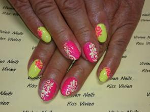 Pink és sárga