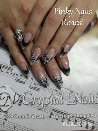 Dobi Renáta Csilla- Pinky Nails -Crystal Nails Elite referencia szalon - Hangjegyes - 2013-01-13 20:26