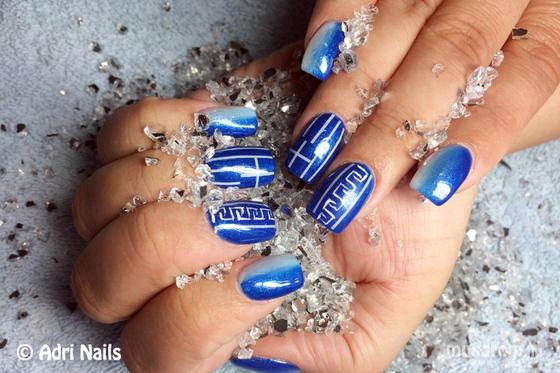 Nail Artist S Pictures Adri Nails Greek Gel Nail Pictures