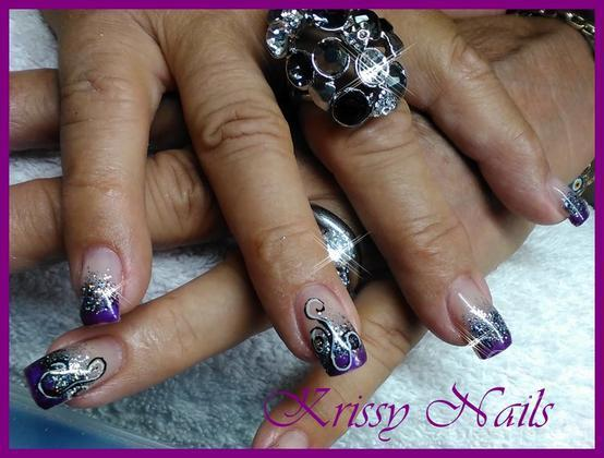 Kristel Leenen - titanium con royal gel y brilliante - 2014-09-11 16:20