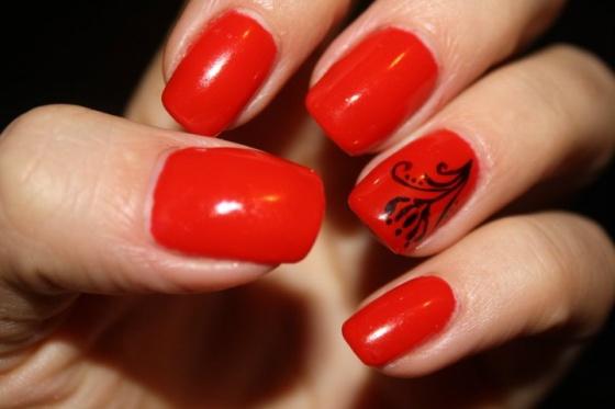 Szabó Anita Nitus - Mikulás piros, fekete festett virággal - 2010-12-29 22:26