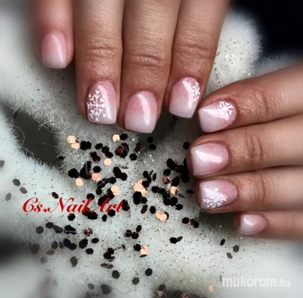 Cs.NailArt - Hopihes baby boomer - 2018-12-06 06:05