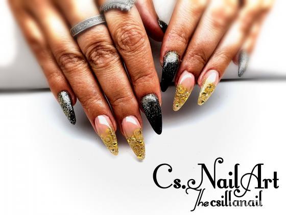 Cs.NailArt - Arany fekete - 2020-01-14 05:46