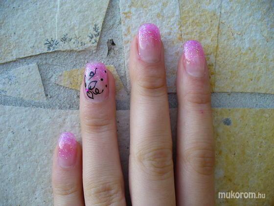 Banyáriné Fehér Hajnalka - rózsaszín csillám kis virággal - 2011-11-07 18:25