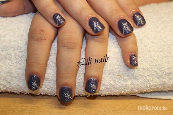 Lili Nails Nottingham - akrillal díszített gel lac - 2011-12-29 21:37