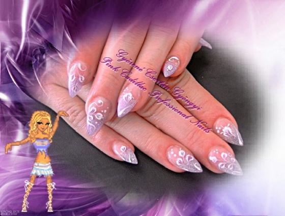 Györené Csertán Gyöngyi - Pink Cadillac Professional Nails Körömszalon - Györené Csertán Gyöngyi - 2009-10-30 09:10