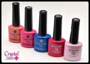 ¿ Cuanto dura en tus uñas el esmalte profesional CrystaLac 3 Step Clásico?